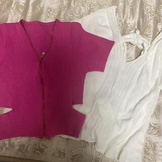 リゼクシー(RESEXXY)のトップス(Tシャツ(半袖/袖なし))
