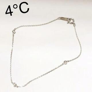 ヨンドシー(4℃)のcanal4℃ K10WG 3PD ブレスレット(ブレスレット/バングル)