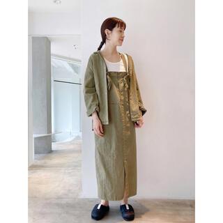 nitca - 今季新品nitca ニトカ  ヨコ朱子ピグメント染め シャツジャケット