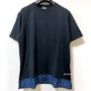 ディオールオム(DIOR HOMME)の国内正規品 美品 21SS ディオール コットン・シルク オブリーク Tシャツ(Tシャツ/カットソー(半袖/袖なし))