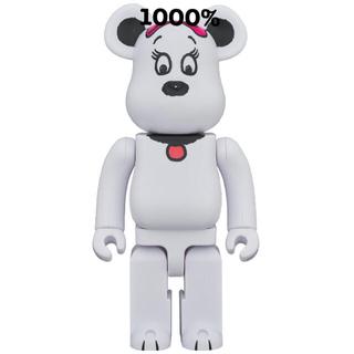 メディコムトイ(MEDICOM TOY)の新品未開封!ベアブリックBELLE1000%(キャラクターグッズ)