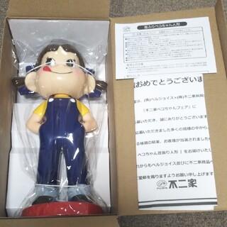 2217 ぺこちゃん首振り人形 126-PK01 内袋未開封品(キャラクターグッズ)