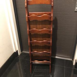カリモクカグ(カリモク家具)のカリモク Karimoku スリッパラック 5段 木製ラック (玄関収納)