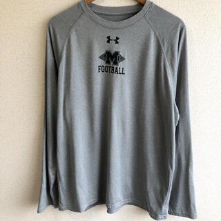 アンダーアーマー(UNDER ARMOUR)のアンダーアーマー フットボール プリント ロンT(Tシャツ/カットソー(七分/長袖))