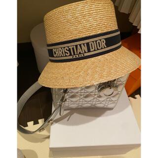クリスチャンディオール(Christian Dior)のディオール(麦わら帽子/ストローハット)