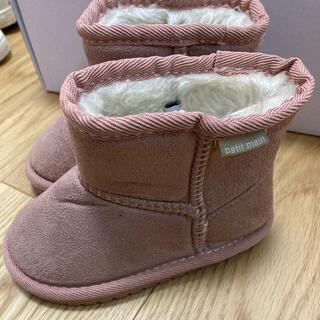 プティマイン(petit main)のブーツ 14センチ (ブーツ)