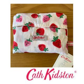 キャスキッドソン(Cath Kidston)のキャスキッドソン エコバッグ ショッピングバッグ ストロベリー 新品(エコバッグ)