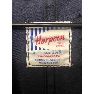 コモリ(COMOLI)のHarpoon Work Jacket  コットンドリル サイズ36(カバーオール)