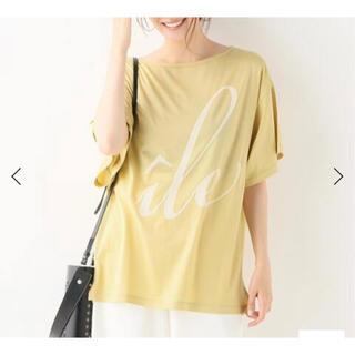 イエナ(IENA)のisland Tシャツ(Tシャツ/カットソー(半袖/袖なし))