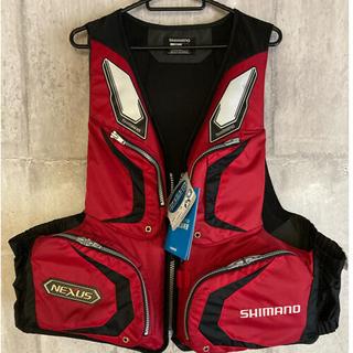 シマノ(SHIMANO)の値下げ!新品タグ付きシマノ フローティングベスト ライフジャケット NEXUS (ウエア)