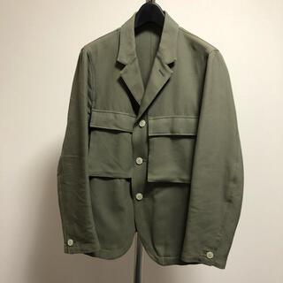 コモリ(COMOLI)のTHE NERDYS MILITARY pocket jacket (ミリタリージャケット)
