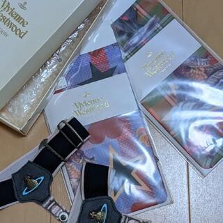 ヴィヴィアンウエストウッド(Vivienne Westwood)の新品未使用 タイツや靴下 4点セット オーブ刺繍 シーモンスター ヴィヴィアン(タイツ/ストッキング)