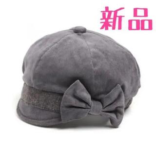 アンパサンド(ampersand)のampersand キッズ 帽子 48㎝ グレー(帽子)