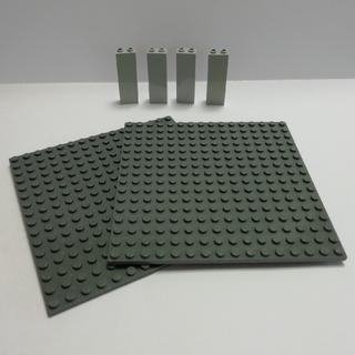 レゴ(Lego)のLEGO中古 基礎版 ①  2枚+柱4本(その他)