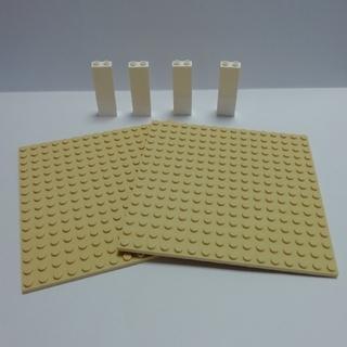 レゴ(Lego)のLEGO中古 基礎版 ②  2枚+柱4本(その他)
