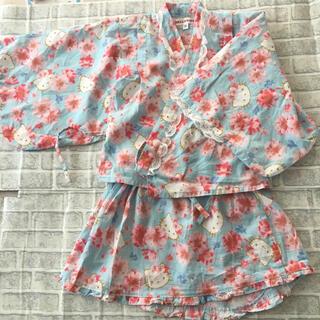 サンリオ(サンリオ)のハローキティ 110 セパレート浴衣(甚平/浴衣)