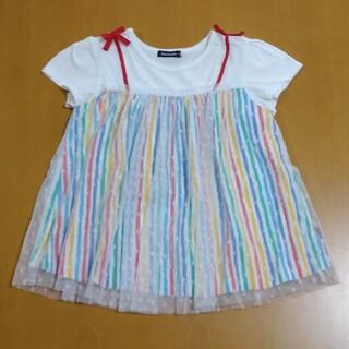 ムージョンジョン(mou jon jon)のmoujonjon 半袖トップス 130(Tシャツ/カットソー)