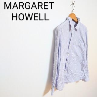 マーガレットハウエル(MARGARET HOWELL)のMARGARET HOWELL ストライプシャツ(シャツ)