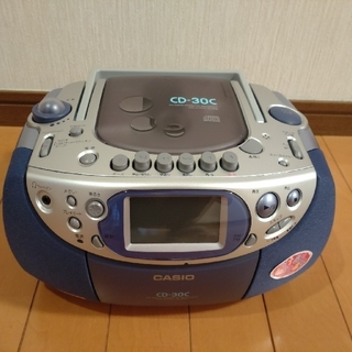 カシオ(CASIO)の【新品】CDラジカセ CASIO(ポータブルプレーヤー)