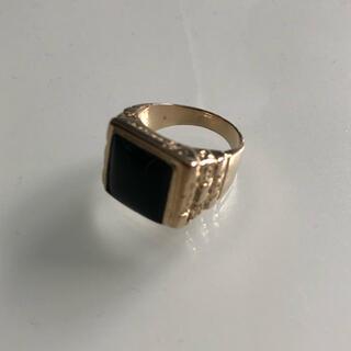 シュプリーム(Supreme)のsupreme onyx pinky ring k14(リング(指輪))