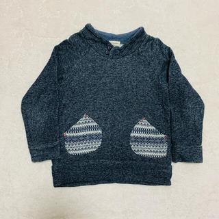 センスオブワンダー(sense of wonder)のセンスオブワンダー ジャガードポケット付き トップス 110(Tシャツ/カットソー)