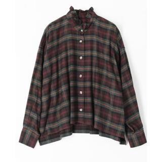 イザベルマラン(Isabel Marant)のISABEL MARANT チェックオーバーサイズシャツ(シャツ/ブラウス(長袖/七分))