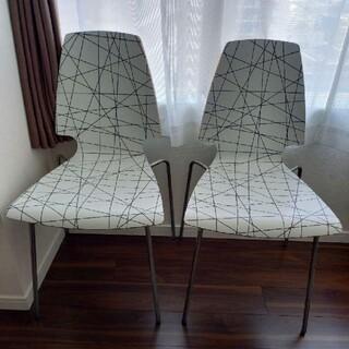 イケア(IKEA)のIKEA VILMAR 21985 椅子2脚セット(ダイニングチェア)