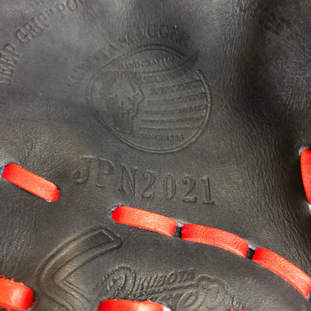 久保田スラッガー(クボタスラッガー)の超限定品!久保田スラッガー 2021年特別仕様グラブ スポーツ/アウトドアの野球(グローブ)の商品写真