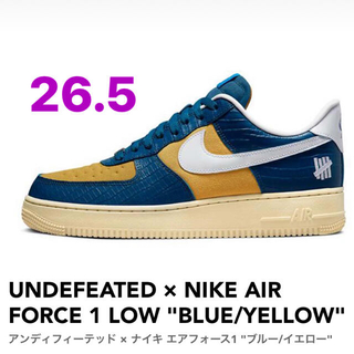 UNDEFEATED - UNDEFEATED × NIKE AIR FORCE 1 LOW