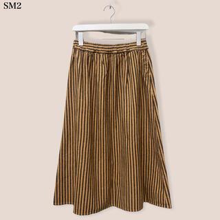 サマンサモスモス(SM2)の【SM2】ストライプスカート  サマンサモスモス(ひざ丈スカート)
