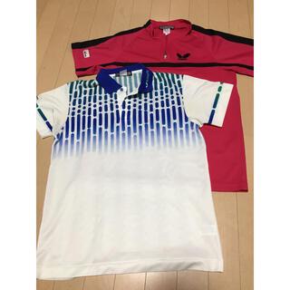 バタフライ(BUTTERFLY)のレディースLL メンズS バタフライ ゲームシャツ(卓球)