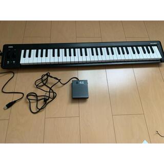 コルグ(KORG)の61鍵盤 KORG USB MIDIキーボード microKEY2(MIDIコントローラー)