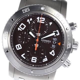 エルメス(Hermes)の☆美品  エルメス クリッパーダイバークロノ  CP2.941 メンズ 【中古】(腕時計(アナログ))