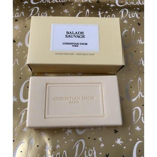 クリスチャンディオール(Christian Dior)の新品 クリスチャンディオール バラッド ソバージュ ソープ 石鹸(ボディソープ/石鹸)