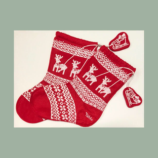 靴下屋 Tabio 巾着袋 クリスマス仕様 2枚セット