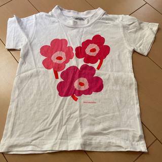 マリメッコ(marimekko)のmarimekko キッズTシャツ 110㎝(Tシャツ/カットソー)