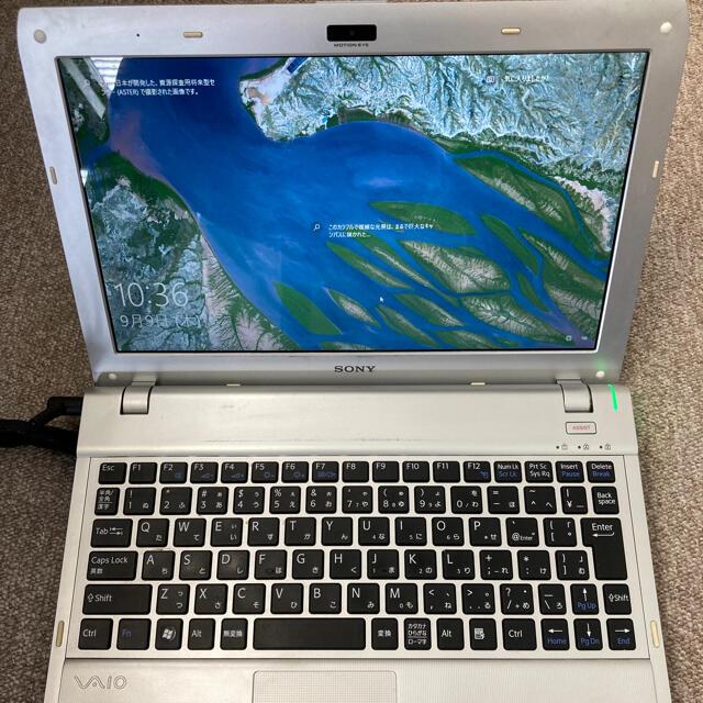 VAIO(バイオ)の希少 SONY VAIO PCG-31311N Win10HOME64bit スマホ/家電/カメラのPC/タブレット(ノートPC)の商品写真