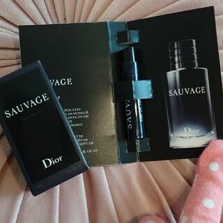 ディオール(Dior)の【DIOR】ソヴァージュ10ml+1ml(香水(男性用))