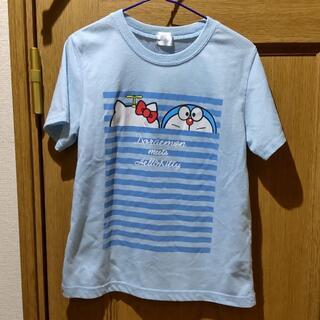 ハローキティ(ハローキティ)のドラえもん ハローキティ コラボTシャツ サイズ130 [117](Tシャツ/カットソー)