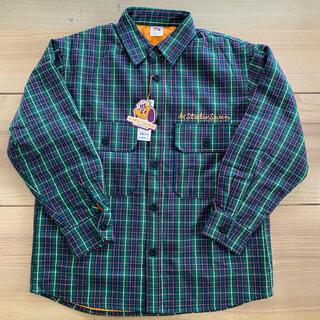 ジーユー(GU)のGU ダブルポケットチェックシャツ STUDIO SEVEN(その他)