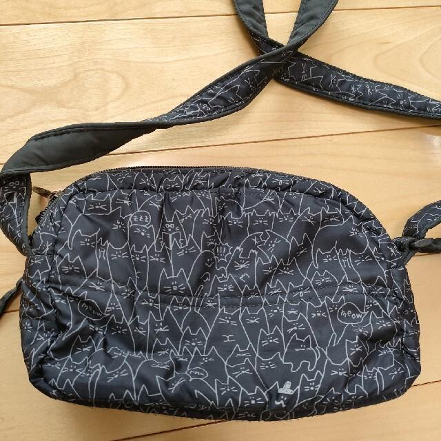 rough(ラフ)のrough ショルダーバッグ ネコ レディースのバッグ(ショルダーバッグ)の商品写真