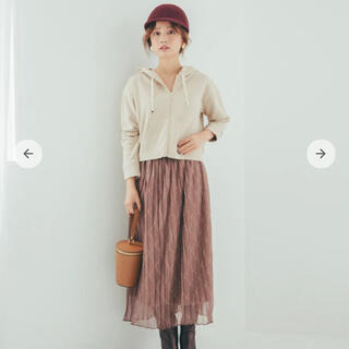 イエナ(IENA)の【SALE】新品タグ付き☆cohinaコヒナ名品チビパーカー(パーカー)