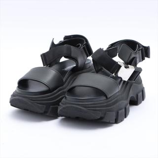 プラダ(PRADA)のプラダ  レザー 35 1/2 ブラック レディース その他靴(その他)