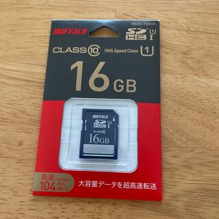 バッファロー(Buffalo)のBUFFALO バッファロー SDHDメモリーカード 16GB(その他)