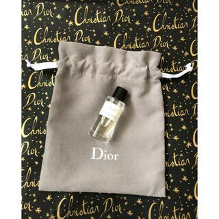 クリスチャンディオール(Christian Dior)の新品 クリスチャンディオール ミニ 香水 ラッキー 巾着(香水(女性用))