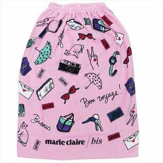 マリクレール(Marie Claire)の新品! マリクレール ラップタオル プールタオル バスタオル(タオル/バス用品)