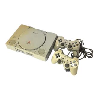 ソニー(SONY)のソニー  プレイステーション PS1 SCPH-7000 コントローラー 2個付(家庭用ゲーム機本体)
