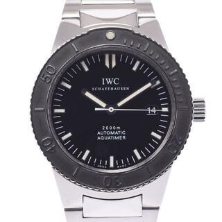 IWC - アイダブリューシー シャフハウゼン  アクアタイマー デイト 腕時計