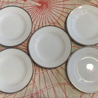 オオクラトウエン(大倉陶園)のお皿×5枚 (大倉陶園×レクサス)(食器)