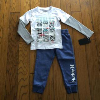 ハーレー(Hurley)のHurley新品ボーイズ用ロンT&裏起毛スウェット セットアップ 100(Tシャツ/カットソー)